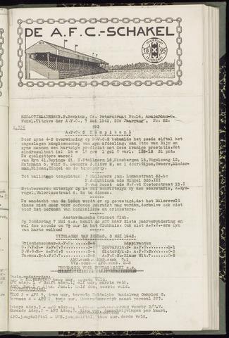 Schakels (clubbladen) 1942-05-07