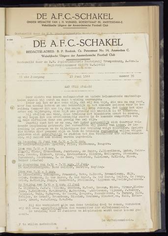 Schakels (clubbladen) 1944-06-15