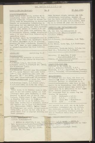 Bulletins (vnl. opstellingen) 1949-07-23