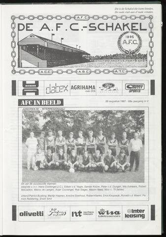 Schakels (clubbladen) 1987-08-26