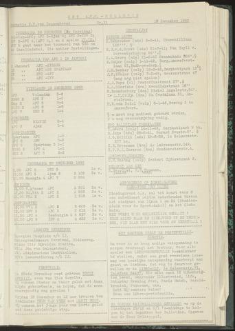 Bulletins (vnl. opstellingen) 1953-12-15