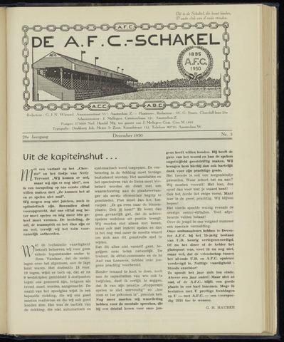 Schakels (clubbladen) 1950-12-01