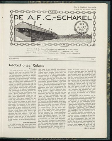Schakels (clubbladen) 1968-02-01