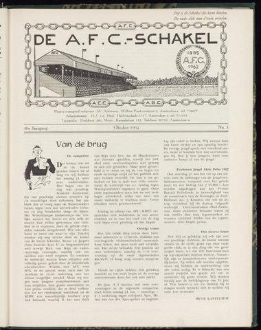 Schakels (clubbladen) 1962-10-01