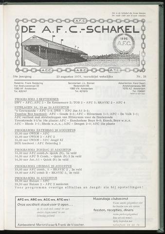 Schakels (clubbladen) 1978-08-23