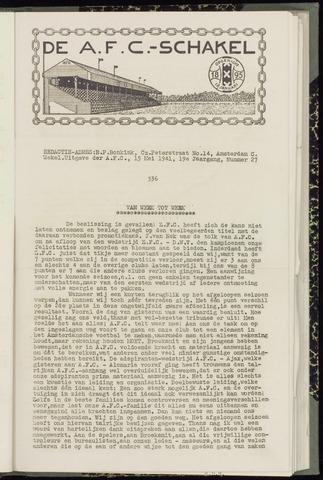Schakels (clubbladen) 1941-05-15