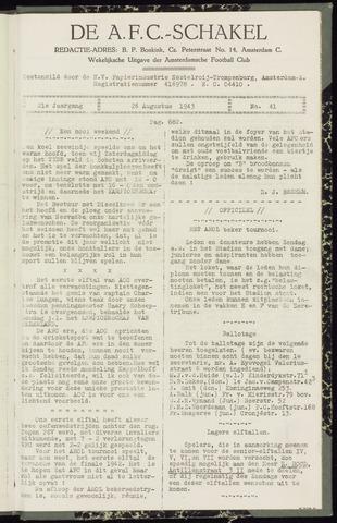 Schakels (clubbladen) 1943-08-26