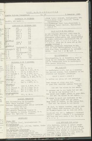Bulletins (vnl. opstellingen) 1958-12-02