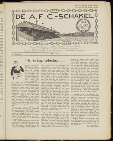 Schakels (clubbladen) 1956-05-01