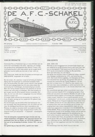 Schakels (clubbladen) 1983-10-05