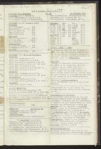 Bulletins (vnl. opstellingen) 1949-11-23