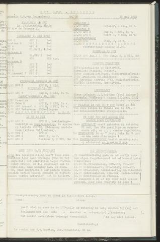 Bulletins (vnl. opstellingen) 1958-05-13