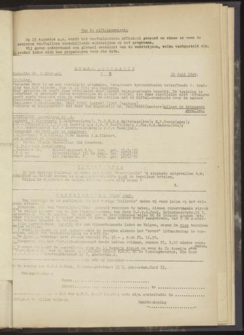 Bulletins (vnl. opstellingen) 1948-07-22