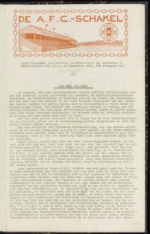 Schakels (clubbladen) 1938-09-15