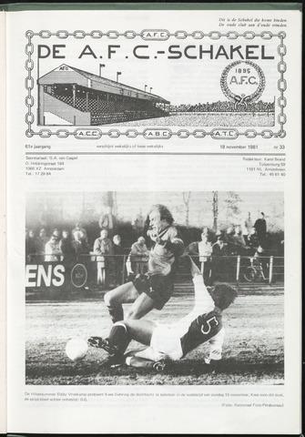 Schakels (clubbladen) 1981-11-18