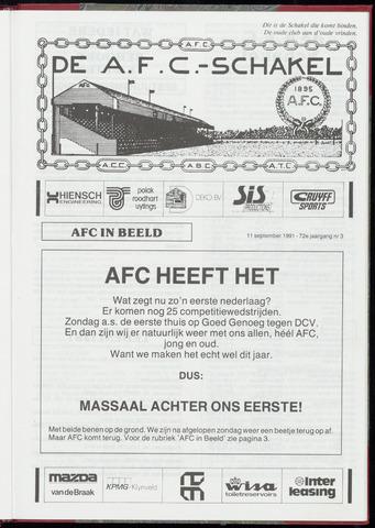 Schakels (clubbladen) 1991-09-11
