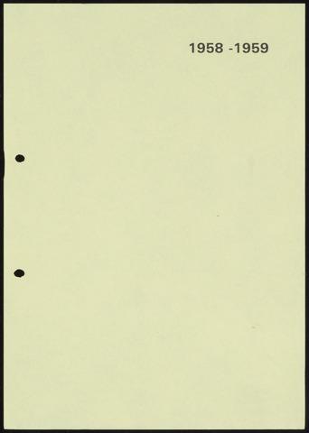 Jaarverslagen 1959-06-01