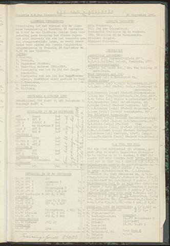 Bulletins (vnl. opstellingen) 1955-09-20
