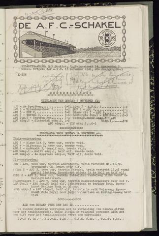 Schakels (clubbladen) 1941-11-13