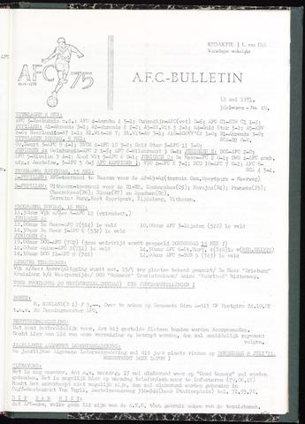 Bulletins (vnl. opstellingen) 1971-05-12