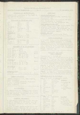 Bulletins (vnl. opstellingen) 1955-09-13