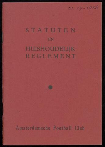 Statuten en reglementen 1938-07-01