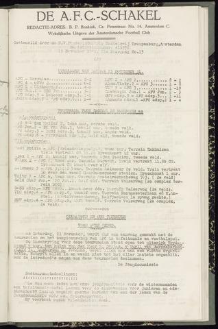 Schakels (clubbladen) 1942-11-19