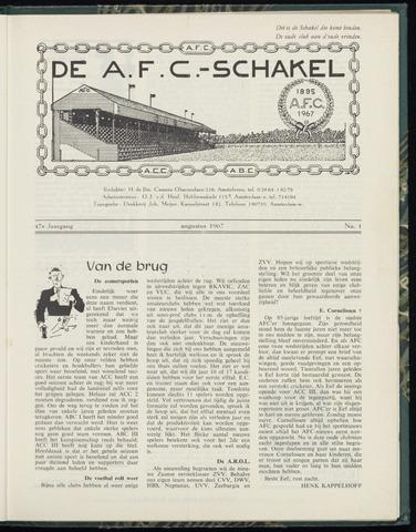 Schakels (clubbladen) 1967-08-01
