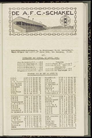 Schakels (clubbladen) 1941-04-17