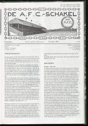 Schakels (clubbladen) 1983-10-19