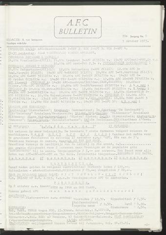 Bulletins (vnl. opstellingen) 1973-10-03