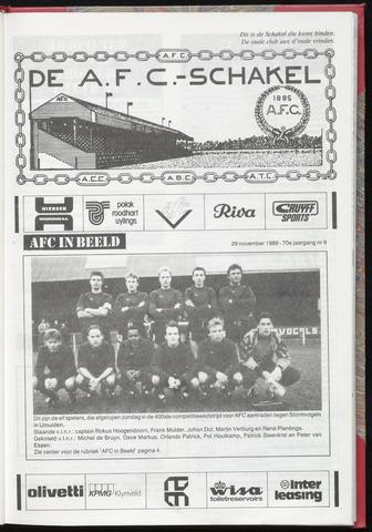 Schakels (clubbladen) 1989-11-29