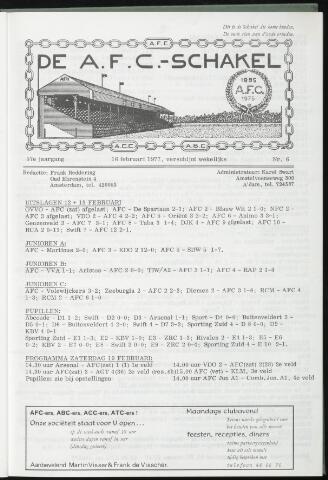 Schakels (clubbladen) 1977-02-16