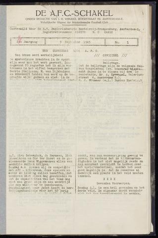 Schakels (clubbladen) 1943-09-09
