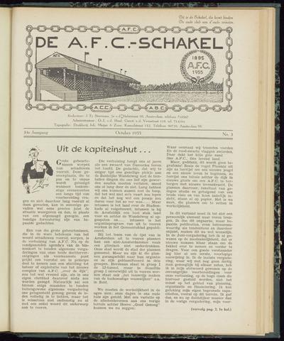 Schakels (clubbladen) 1955-10-01