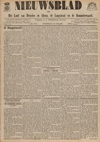 Nieuwsblad het land van Heusden en Altena de Langstraat en de Bommelerwaard 1900-03-21