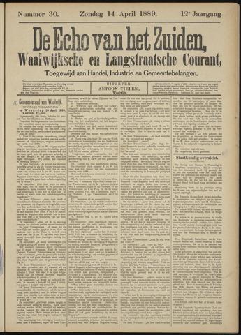 Echo van het Zuiden 1889-04-14