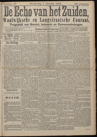 Echo van het Zuiden 1915-10-07