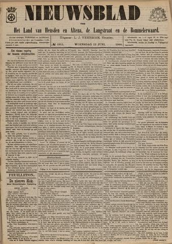 Nieuwsblad het land van Heusden en Altena de Langstraat en de Bommelerwaard 1900-06-13