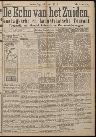 Echo van het Zuiden 1913-06-26