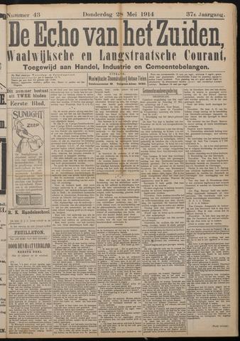 Echo van het Zuiden 1914-05-28