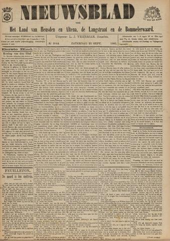 Nieuwsblad het land van Heusden en Altena de Langstraat en de Bommelerwaard 1901-09-21