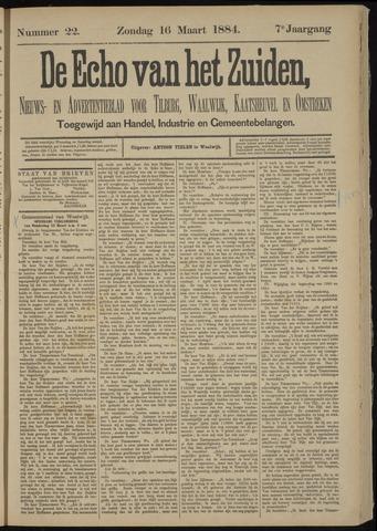 Echo van het Zuiden 1884-03-16