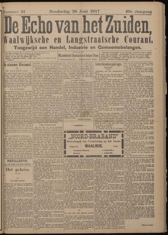 Echo van het Zuiden 1917-06-28