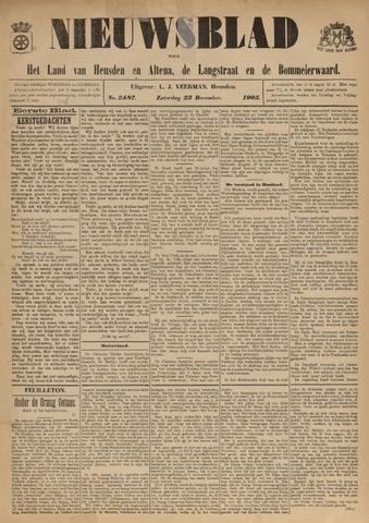 Nieuwsblad het land van Heusden en Altena de Langstraat en de Bommelerwaard 1905-12-23