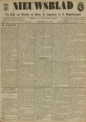Nieuwsblad het land van Heusden en Altena de Langstraat en de Bommelerwaard 1894-07-25