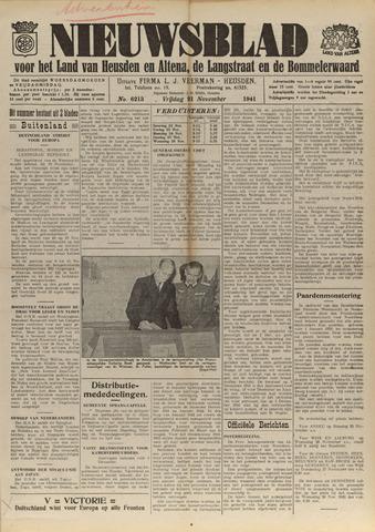 Nieuwsblad het land van Heusden en Altena de Langstraat en de Bommelerwaard 1941-11-21