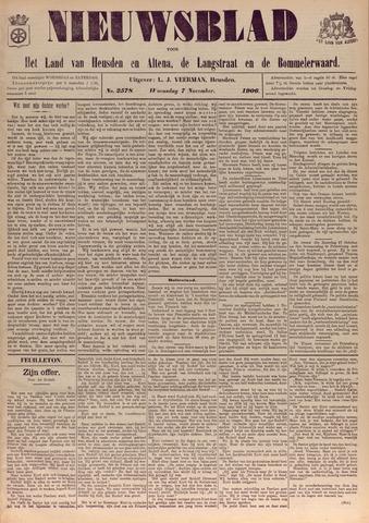 Nieuwsblad het land van Heusden en Altena de Langstraat en de Bommelerwaard 1906-11-07