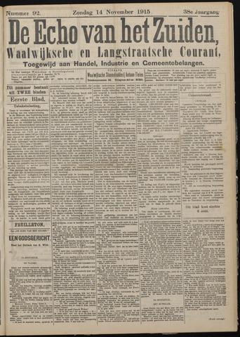 Echo van het Zuiden 1915-11-14