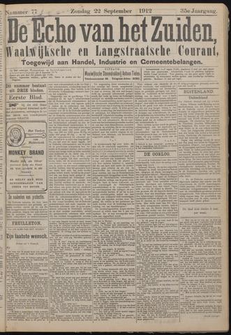 Echo van het Zuiden 1912-09-22